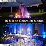 LED Flood Lights RGB Color Changing 100W Equivalent