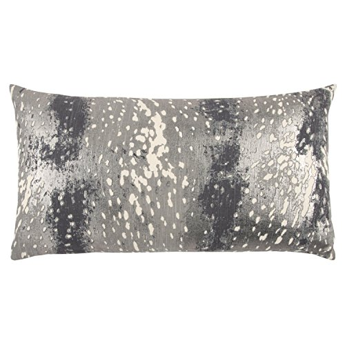 Rizzy Home Decorative Polyester Filled Pillow Abstract Decorative Pillow, 14