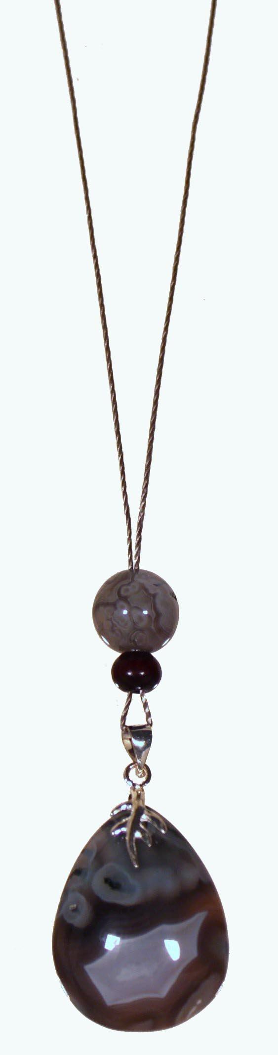 Geode / Heart Chakra Amulet