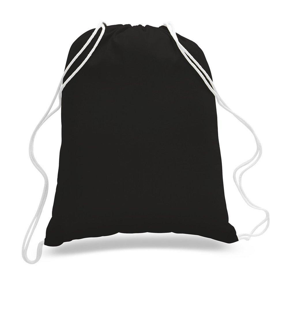 shopinusa Buyバルク、( 12パック) Eco friendly- Smallサイズキャンバスドローストリングバックパック、Cinchバッグ 14