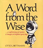 A Word from the Wise, Otto Bettmann, 0517529327