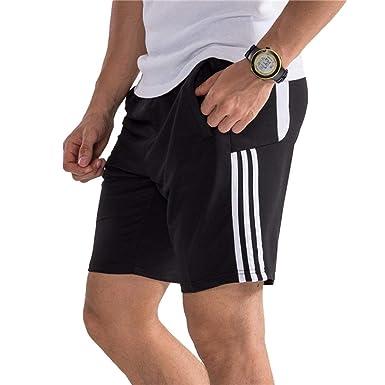 Pantalones Cortos De Rayas Para Hombres Para Deporte Fitness ...