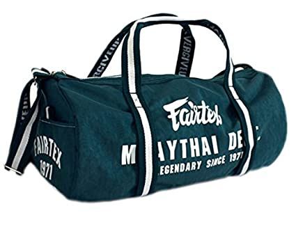 8755f6dc70ef Fairtex BAG9 Retro Style Barrel Bag Thai Boxing Heavy Gym Bag Myay Thai MMA