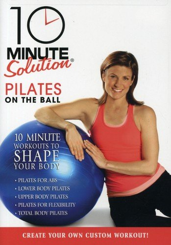 10 Minute Solution: Pilates On The Ball (Ball Exercise Dvd)