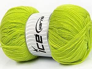 خيوط الايس الكرستال, اخضر فاتح fnt2-54689