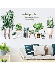 Muurtattoo Muurstickers Grote Groene Tropische Plant Boom Bladeren Muurstickers Muurstickers Voor Huis Woonkamer Slaapkamer Shop Decoratie