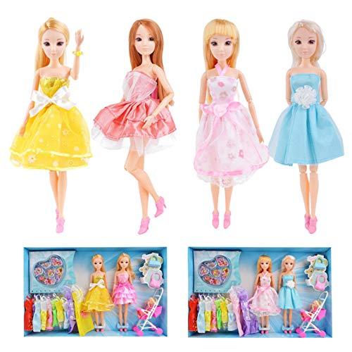 Global Brands Online 3D Lifelike Augen Kopf BJD DIY Kopf Acryl Augen Kopf Nake Gelenke Körper Puppe Spielzeug für Mädchen Geschenk Geschenk