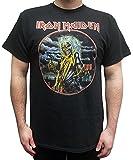 Iron Maiden Killers Circle Vintage T-Shirt, Black, Large
