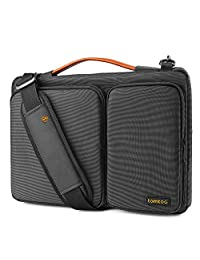 """tomtoc Original Laptop Shoulder Bag with CornerArmor, Compatible with 13.3"""" Old MacBook Air 