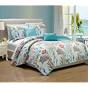 51DGe%2B-AAAL._SS300_ Coastal Bedding Sets & Beach Bedding Sets