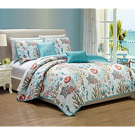51DGe%2B-AAAL._SS450_ 100+ Nautical Quilts and Beach Quilts