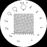 Mitutoyo 183-108 Reticle #7 for Pocket Comparator