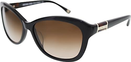 3eb690333bc0 Image Unavailable. Image not available for. Colour: Michael Kors Women's  Gradient Melissa MKS821-001-58 Black Cat Eye Sunglasses