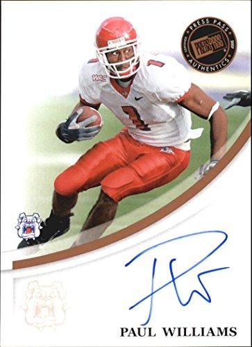 2007 Press Pass RC Autograph Bronze #66 Paul Williams RC AUTO NFL Footballl Trading Card