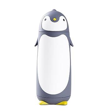 VANKER Botella de agua - 300ml?Nuevos niños niños lindo animal de dibujos animados pingüino