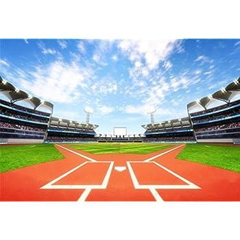 Amazon Com Aofoto 10x7ft Baseball Stadium Ballpark