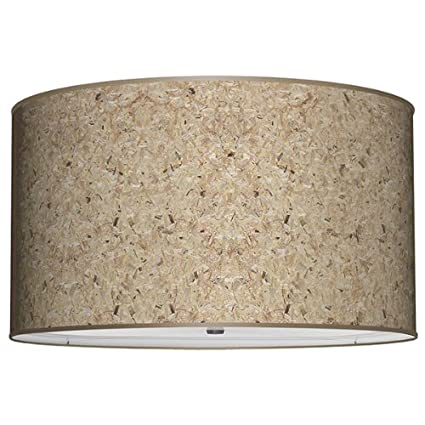 Seascape lamps drum lamp shade texture chip