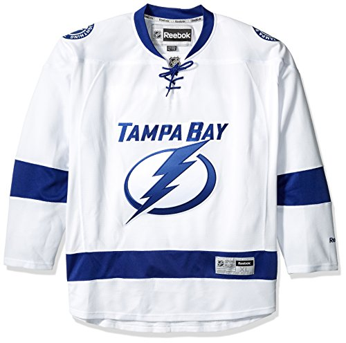 Tampa Bay Lightning Reebok Premier Replica Road NHL Hockey Jersey - Size X-Large