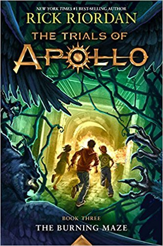 [By Rick Riordan ] The Trials of Apollo Book Three The Burning Maze (Hardcover)2018 by Rick Riordan (Author) (Hardcover)