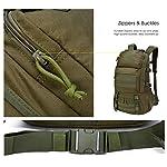 Mardingtop Sac à dos militaire tactique 25 L/28 L pour randonnée, voyage, trekking, tactique, sac tactique, sac à dos… 8