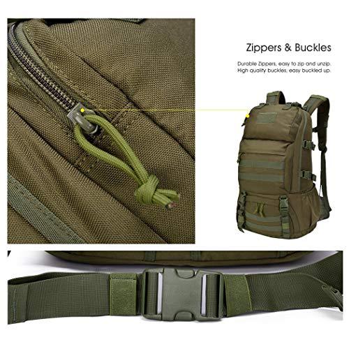 Mardingtop Sac à dos militaire tactique 25 L/28 L pour randonnée, voyage, trekking, tactique, sac tactique, sac à dos… 3