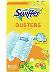 Swiffer 180 Dusters Refills For Multi Surface Cleaning, Disposable, Gain Original Scent, 10 Count