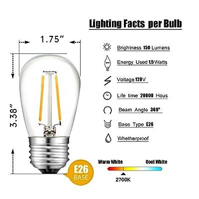 Salking S14 LED Outdoor String Light