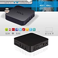 TV BOX Quad Core Android 4.4 Kitkat 1080P 1GB DDR3 + 8GB Nand Flash WIFI Airplay Miracastg