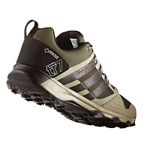 adidas Kanadia 7 Tr Gtx, Zapatillas de Deporte Exterior para Hombre Verde (Verbas / Negbas / Beitéc)