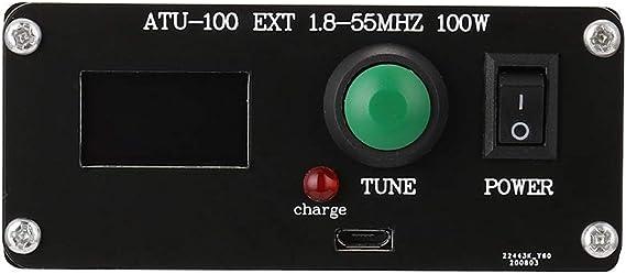 ATU-100 1.8-55Mhz Mini sintonizador de antena automático ...