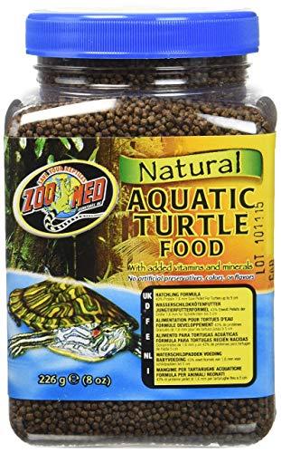 (Zoo Med Natural Aquatic Turtle Food, Hatchling Formula, 8-Ounce)