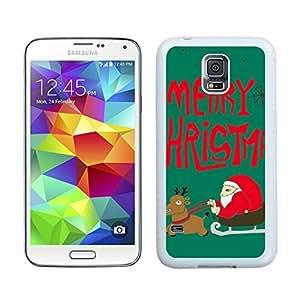 Recommend Design Santa Claus White Samsung Galaxy S5 Case 3