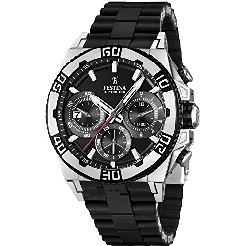 Men's Watch Festina Chrono Bike F16659/5 Tour de France 2 Years Warranty
