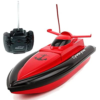 Rabing F1 High Speed RC Boat Remote Control Electric Boat-Red (Only Works In Water)