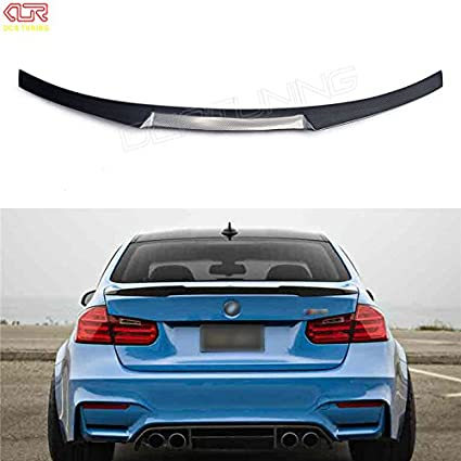 Amazon com: silutong for BMW F30 F80 M3 Spoiler Carbon Fiber