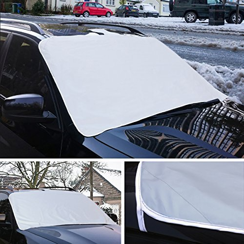 TRIXES Magnetic Car Windscreen Ice Frost & Snow Shield Cover