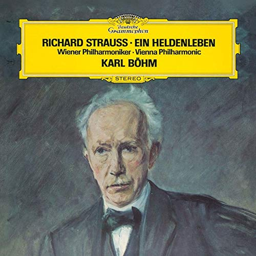 SACD : BOHM,KARL - R. Strauss: Ein Heldenleben (Limited Edition, Direct Stream Digital, Super-High Material CD, Japan - Import, Single Layer SACD)