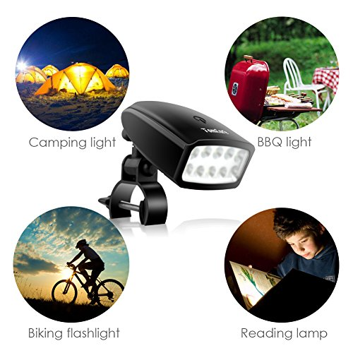 TomCare Grill Light 10 LED Super Bright Barbecue Grill Lights Waterproof 360 Degree Rotation BBQ Lights Outdoor Battery Operated BBQ Accessories Touch Control Grill Accessories for Grill BBQ