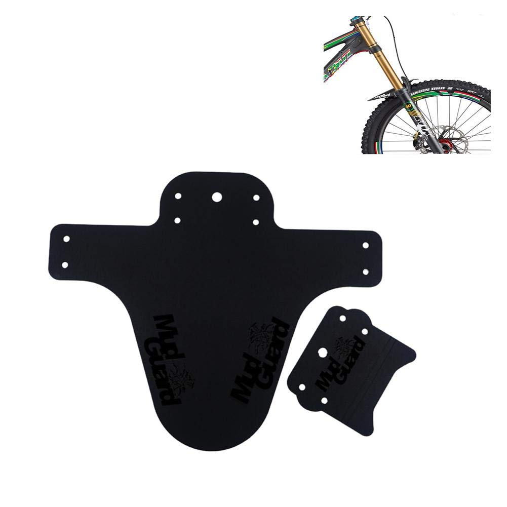 AITOCO Plegable Delantero y Trasero Guardabarros para Bicicleta de monta/ña para monta/ña BMX Racing Touring