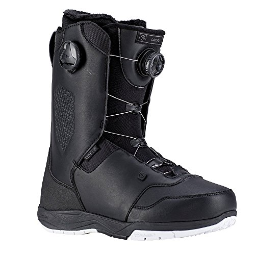 Ride Lasso Men's Snowboard Boot 2019 - Size 10 - Black (Ride Boots)