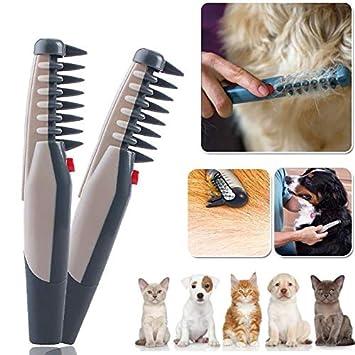 Peine para Gatos genérico para peluquería con Forma de PE, para Perros y Gatos,
