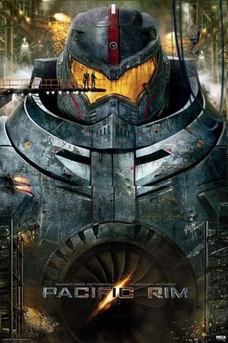 Used, Pacific Rim - Movie 24x36 Poster Teaser Art Print Ron for sale  Delivered anywhere in USA