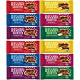 Fig Bars Healthy Snack (Count 12) Variety Pack, 2 Each Strawberry, Raspberry, Lemon, Blueberry, and Apple Cinnamon Nature's Bakery