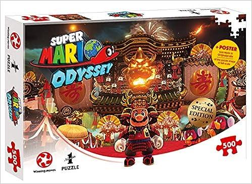Puzzle Super Mario Odyssey Bowser S Castle 500 Teile