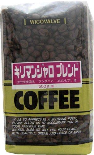 アバンス 徳用 キリマンブレンド (豆) 500gの商品画像