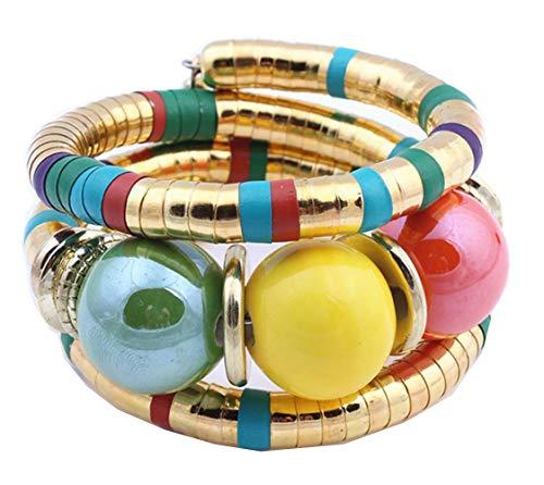 DUOLI DUOLI Dolly Dolly African Bracelet Tribal Bracelet Ethnic Bracelet Rope Bracelet (Color A)