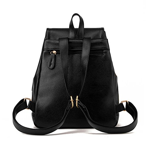 Purse Z Mini Fashion Girls Casual amp; Beige Backpack for Leather joyee Women Shoulder Bag School White3 Backpack frzrEw
