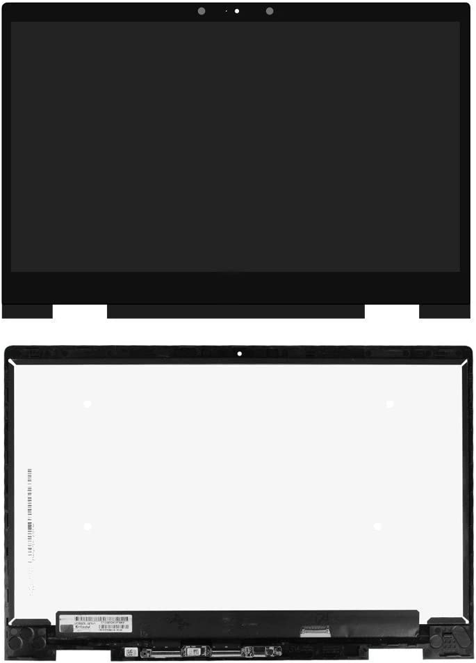 """15.6"""" FHD LED LCD Display Touch Screen Assembly Bezel Replacement for HP Envy X360 15m m6-bp 15m-bp111dx (only fit 1920X1080 Version)"""
