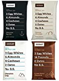 RxBar Real Food Protein Bars Chocolate Variety Pack, New 4 Flavors (Pack of 12)