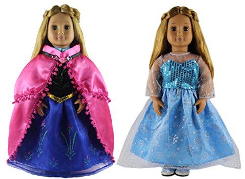 HongShun 2 Set Doll Clothes for 18